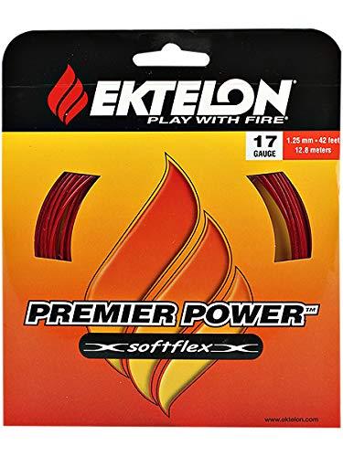 Ektelon Premier Power String (Red, 17-Gram)