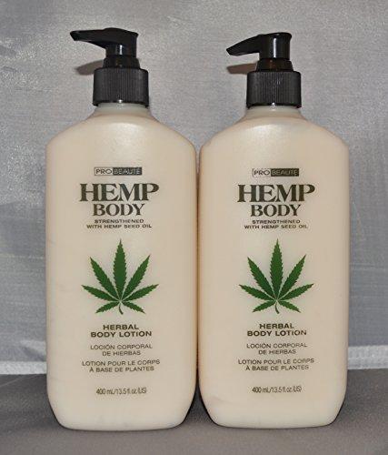 Beaute Lotion - Probeaute Hemp Body Herbal Body Lotion 13.5 oz (2 pack)