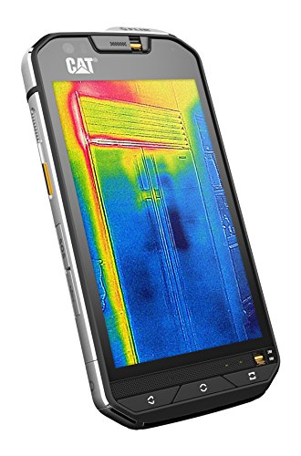 Caterpillar CAT S60 32GB Dual-SIM Factory Unlocked Thermal Imaging Rugged Smartphone - International Version with No Warranty (Black) (Caterpillar Cat S50)