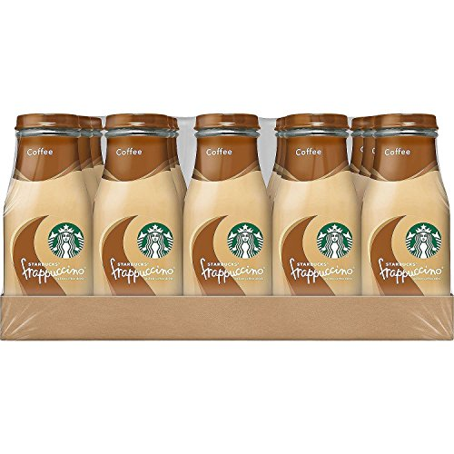 Starbucks Frappuccino Drinks, Coffee Flavor, 9.5 Ounce Glass Bottles (15-Count) Only $15.75