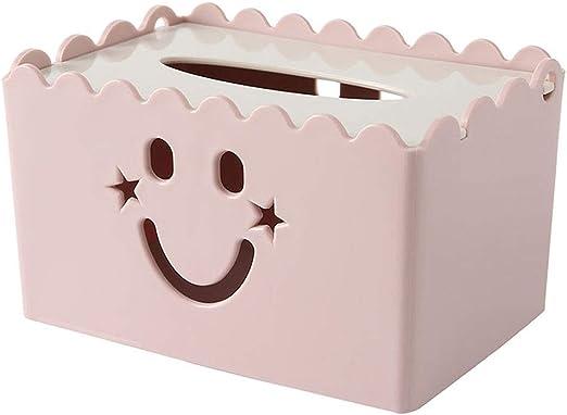 ZTKBG Caja de pañuelos Mesa de Centro Bandeja de Escritorio Restaurante Toalla Caja de Almacenamiento: Amazon.es: Hogar