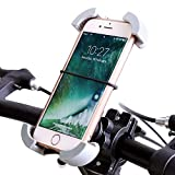 Phone Bike Mount BUDGET & GOOD® Universal Handlebar Bicycle Cell Phone Cradle Holder Outdoor Cycling GPS Bracket for iPhone 7 Plus 7 6s Plus 6s SE Samsung Galaxy S7 and More