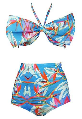 Cocoship Bandeau Bikini Holiday Swimsuit