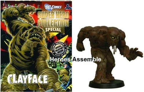 Clayface Pack - The DC Super Hero Figurine Collection Special Clayface