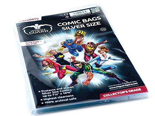 Silver Comic Bags - 6