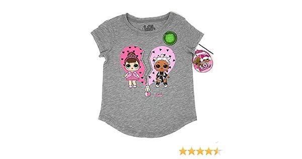 Amazon.com: L.O.L. Surprise! LOL Glow In The Dark Surprise Girls T-Shirt: Clothing