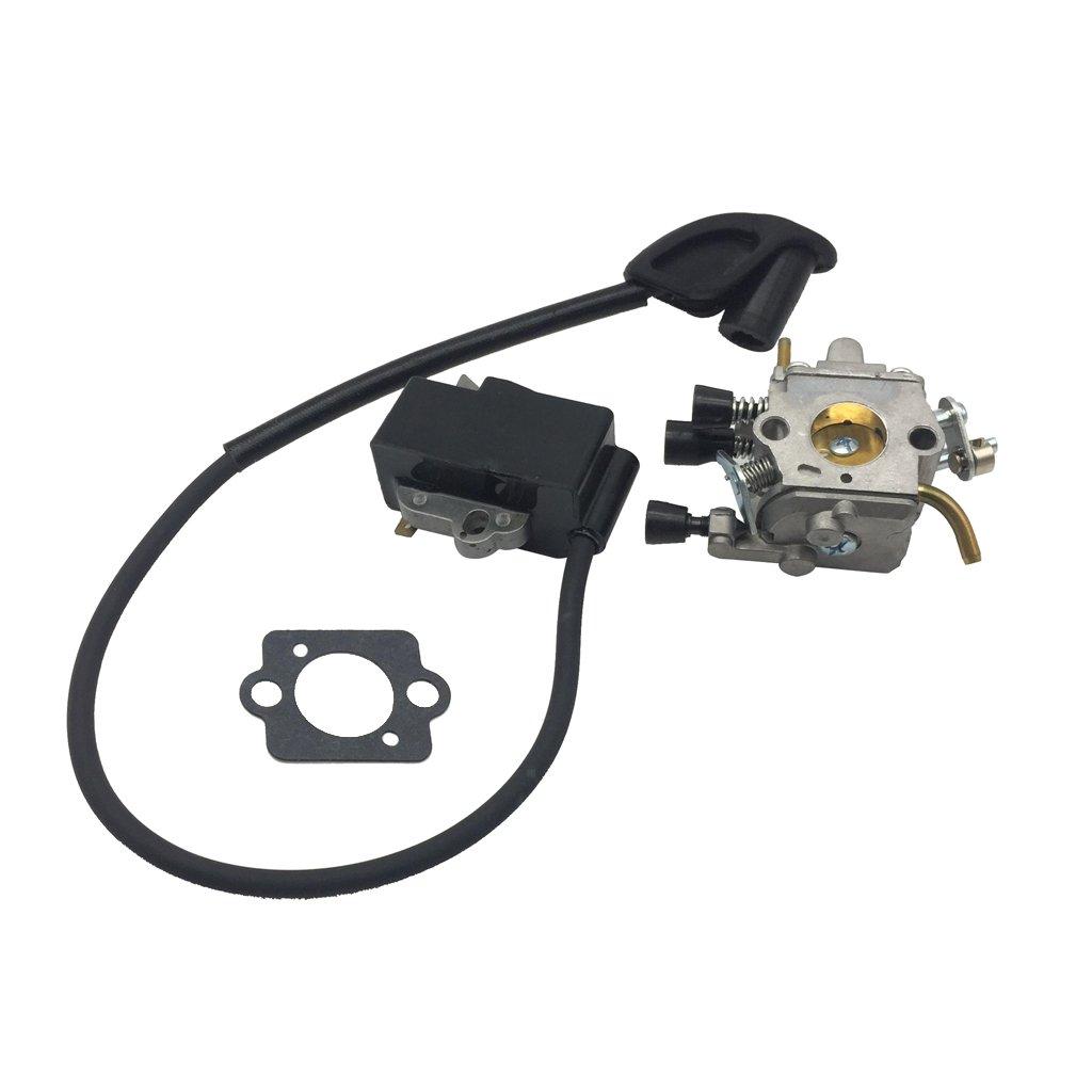 Sharplace Kit Carburatore Con Bobina Di Accensione Guarzione In Metallo - 10 x 5x 8cm non-brand