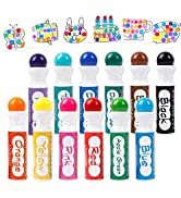 Shuttle Art 12 Colors Washable Dot Markers, Bingo Daubers Dabbers Dauber Dawgs for Kids Toddlers ...