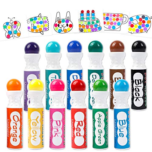 Dot Markers 12 Colors