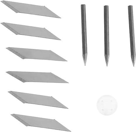 Compas rotatif couteau rond en carton en caoutchouc en cuir art artisanat
