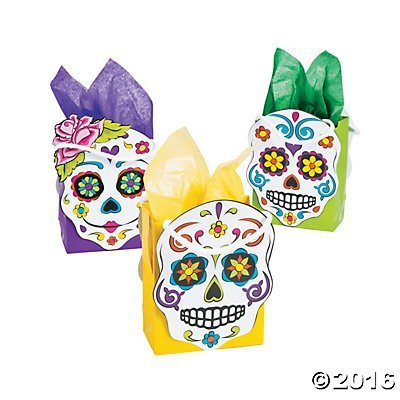 Day of the Dead Gift Bags ()