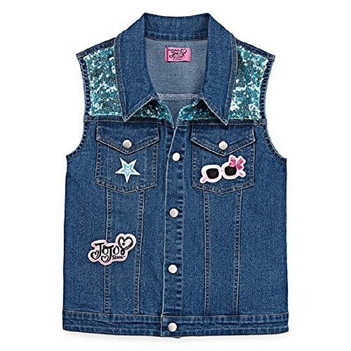 Girls JoJo Siwa Fashion Denim Vest -