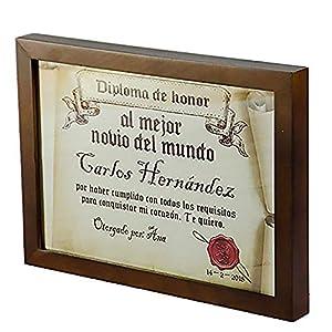 Calledelregalo-Regalo-con-Marco-Personalizable-para-tu-Pareja-Diploma-pergamino-al-Mejor-Novio-del-Mundo-Personalizado-con-su-Nombre-dedicatoria-Firma-y-Fecha