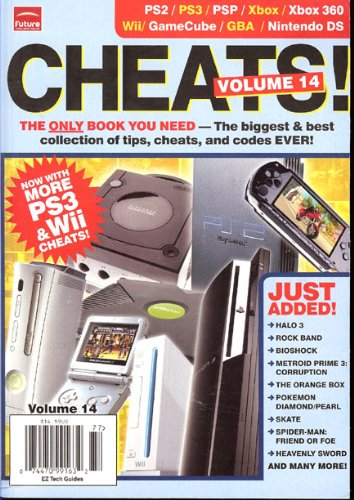 Cheats: Tips Cheats and Codes for PS2, PS3, PSP, Xbox 360, Wii, Game Cube, Nintendo DS, (14)
