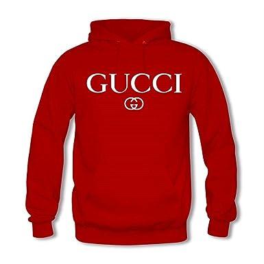 Novonoko New Gucci Sudadera con capucha N9294 rojo XXX-Large: Amazon.es: Ropa y accesorios