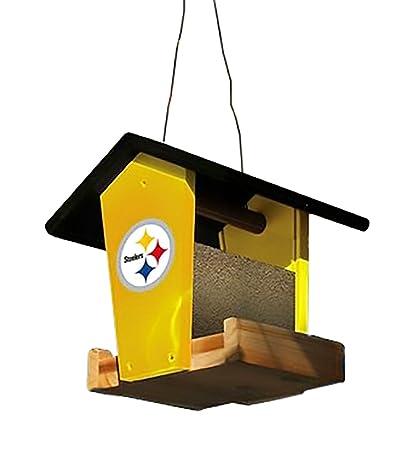 more photos 30654 8f520 Amazon.com: Pittsburgh Steelers Wood Birdfeeder Kit: Sports ...