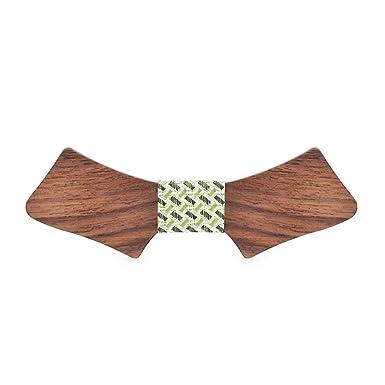 Corbata, 2019 mujeres de los hombres de madera de madera pajarita ...