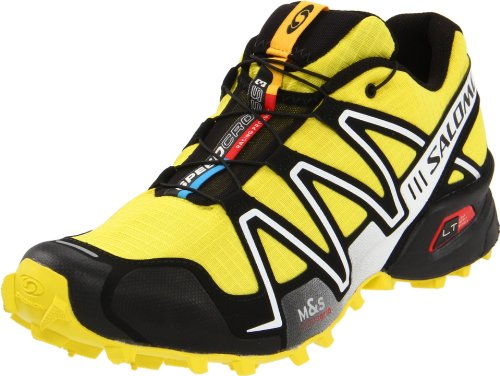 best service 53570 fa5be Salomon Men s Speedcross 3 Running Shoe,Canary Yellow Black Cane,10.5 M US  (B0054TJNAK)   Amazon price tracker   tracking, Amazon price history  charts, ...