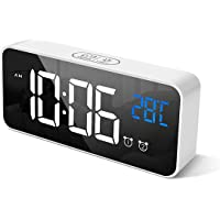 HOMVILLA Reloj Despertador Digital con Pantalla LED