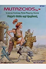 Mutazoids Post Apocalyptic Role Playing Game Third Edition Paperback
