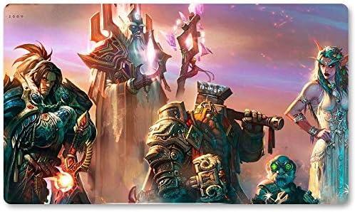 Warcraft46 – Juego de mesa de Warcraft tapete de mesa Wow juegos teclado Pad Tamaño 60 x 35 cm World of Warcraft Mousepad para Yugioh Pokemon MTG o TCG: Amazon.es: Oficina y papelería