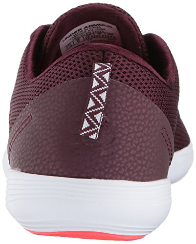 Under Armour Womens Street Precision Sport Low Neutral Raisin Red/Raisin Red/White