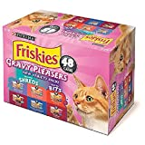 Purina Friskies Gravy Pleasers, Variety Pack (5.5 oz., 48 ct.)