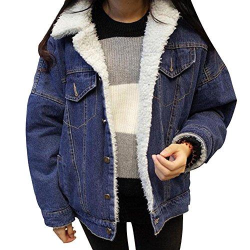 Lined Denim Jacket - 8