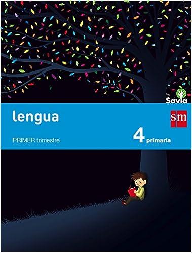 Lengua. 4 Primaria. Savia - Pack de 3 libros - 9788467575385: Amazon ...
