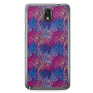 Hairs Samsung Note 3 Transparent Edge Case - Design 24