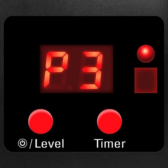 TROTEC Radiador Infrarrojo IR 2550 S. Calefactor por infrarrojos para exteriores, radiadores de terraza, calor uniforme, a prueba de salpicaduras, ...