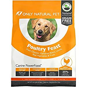 Amazon.com: Only Natural Pet Dry Dog Food Canine PowerFood