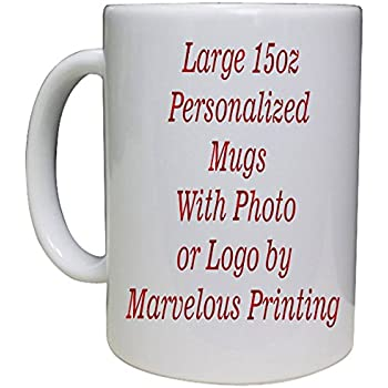 amazon com personalized coffee mug add pictures logo or text to