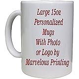 Personalized Photo Coffee Mug 15oz White