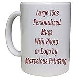 Personalized Photo Coffee Mug 15oz White Deal (Small Image)