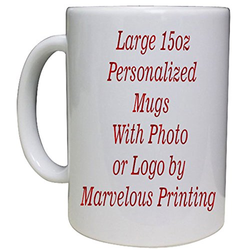 Personalized Photo Coffee Mug 15oz ()