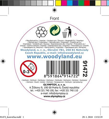 Woodyland 102191472ガーデン缶ブルー   B07DLKGQX6