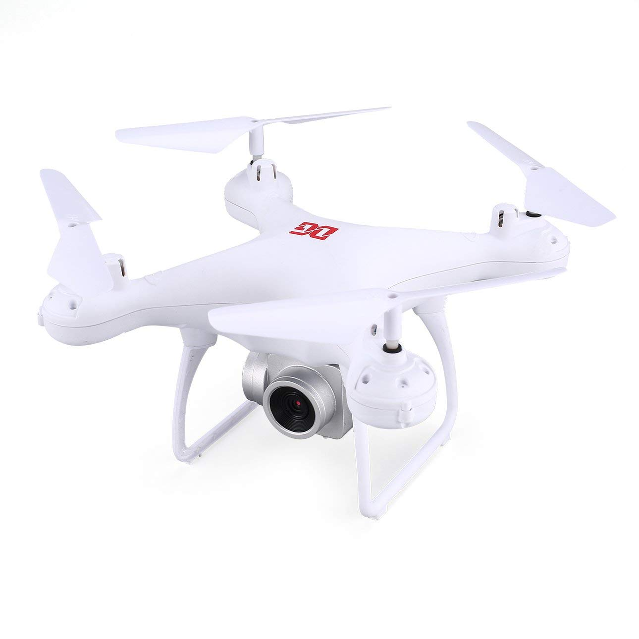 Ballylelly RC Drone con CameraXG183 2.4G RC Selfie Drone FPV Quadcopter con Fotocamera 0.3MP Real -Time Altitude Hold LED Flash Word Puntelli programmabili