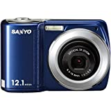 Sanyo VPC-S120 12.1 Megapixel Digital Camera