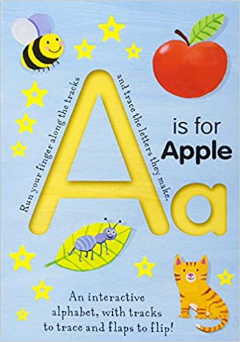 Amazon com: A Is for Apple (Trace-and-Flip Fun!) (Smart Kids
