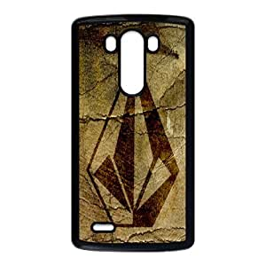 Classic Case Volcom pattern design For LG G3 Phone Case