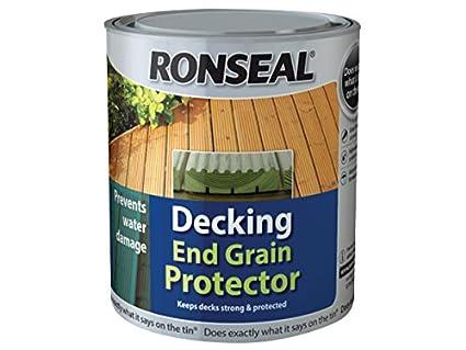Colori Vernici Legno : Ronseal rslegp750 vernice protettiva per terrazze in legno grana