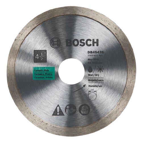 Bosch DB4543S 4-1/2-Inch Continuous Rim Diamond Blade