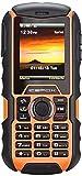 IceFox (TM) Dual Sim Outdoor Handy,2,0 Zoll Display,IP68 Wasserdicht,Stoßfest, Rugged Handy Ohne Vertrag,Versand aus Deutschland