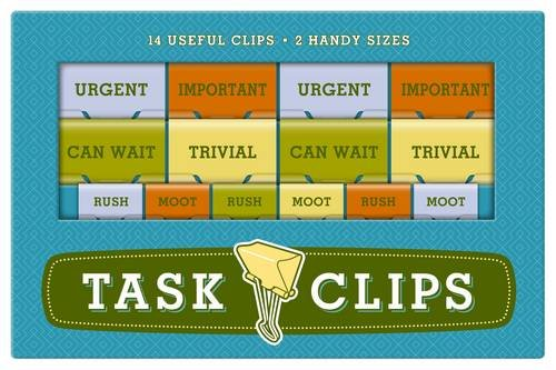 Price comparison product image Knock Knock Task Clips,  Importance (70056)