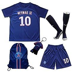 2019/2020 Paris Home #10 Neymar JR. Foot...