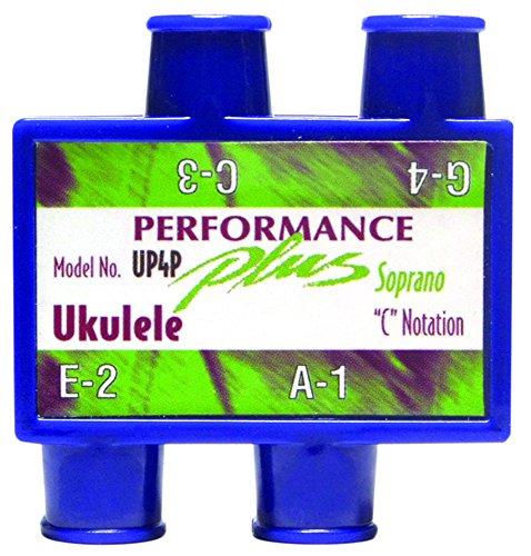 Performance Plus Soprano Ukulele C Notation Pitch Pipe Acoustic Guitar Neck (UP4P) (Ukulele Tuner Pitch Pipe)