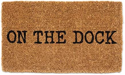 Abbott Collection 1235-FWD-DOCK On The Dock Doormat-18X30 L