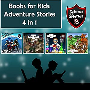 Books for Kids: Hero Diaries with Action and Adventure Audiobook