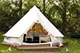 Outdoor Waterproof Luxury Glamping Bell Tents for Boutique Camping and Occasional Family Camping Trips and Festivals and...